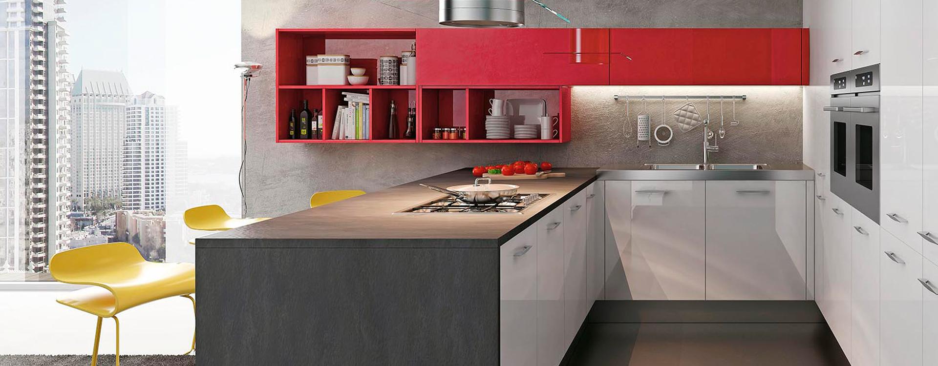 Cuisine couloir lacroix design lausanne for Cuisine couloir