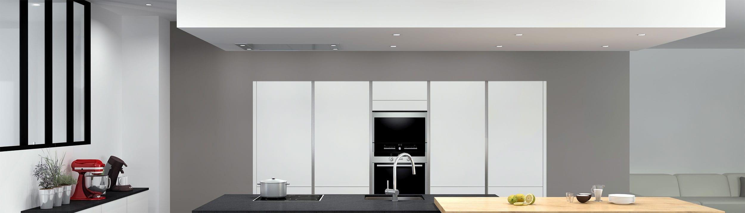 Faux Plafond Suspendu Cuisine pourquoi mettre un faux plafond dans sa cuisine ? designo